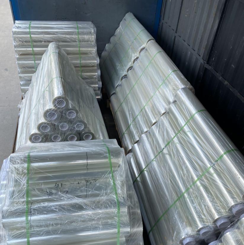 大量批发现货:排废托底单层PET保护膜,亚克力胶,硅胶,厚度3C,5C,6C,8C,各种粘性,