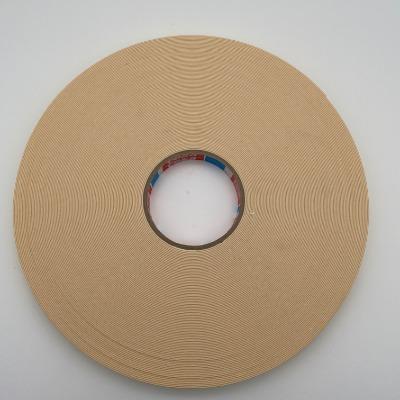 tesa4952. 产品描述 tesa4952是用于结构性固定应用的PE泡棉双面胶带,以高服帖性的PE泡棉为基材,使用改性丙烯酸胶系。tesa? 4952在家具镜面固定应用中得到外界认证。产品特点: 万能胶黏剂,对各种不同表面具有高立即粘接力 完全适用于户外应用:抗UV,防水,耐老化 补偿不同材料热膨胀差异 即使在施加很少压力的情况下仍具有高立即粘接强度 优秀的抗低温冲击性能 主要应用: 家具镜子固定 汽车后视镜固定 固定功能件及框架组件 固定装饰面板 tesa? 4952在镜面固定应用中经过LGA协会的测试认证. 报告编号: IWQ FSG 329 1189。 剥离力: - 立即剥离力: 在钢板, 铝, ABS, PC, PS, PET, PVC等材料表面泡棉自身撕裂 - 14天最终剥离力: 在钢板, 铝, ABS, PC, PS, PET, PVC等材料表面泡棉自身撕裂