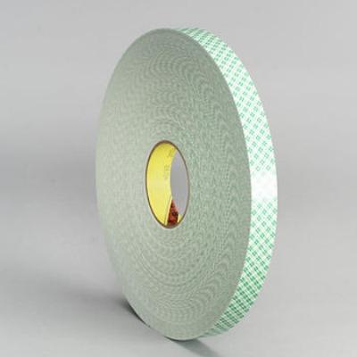 3M4026是 3M双面胶中的一款泡棉基材双面胶,基材为聚氨酯泡棉,胶粘剂类型为A-20(是一种高强度 丙烯酸压敏胶),厚度为1.6MM,颜色为白色,具有超强的粘性,抗紫外线、耐溶济性好,还具有具有柔软、贴服性好特性,具有高拉伸力,剪切强度,耐高温,粘接强度可随自然老化大大加强;离型纸为绿色格纹离型纸,可以用于取代螺钉、柳钉、点焊等传统固定方法,用双面胶带固定能使产品表面更为光滑、美观、操作更加简单、密封性更好、效果更为持久、拆装十分方便。