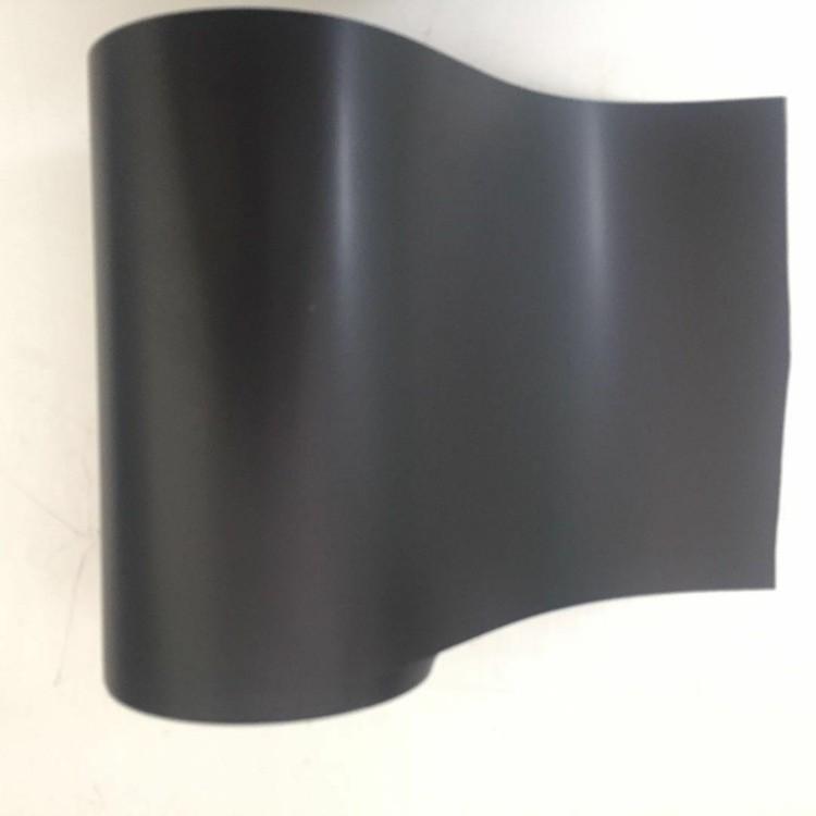 黑色PET黑色麦拉哑黑色电池标签专用膜绝缘遮光不开交可印刷