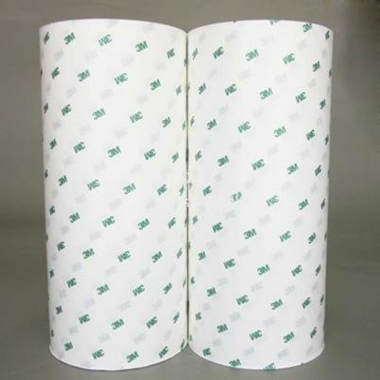 耐高温PET乳白色硅胶带单面乳白色PET接头胶带不残胶