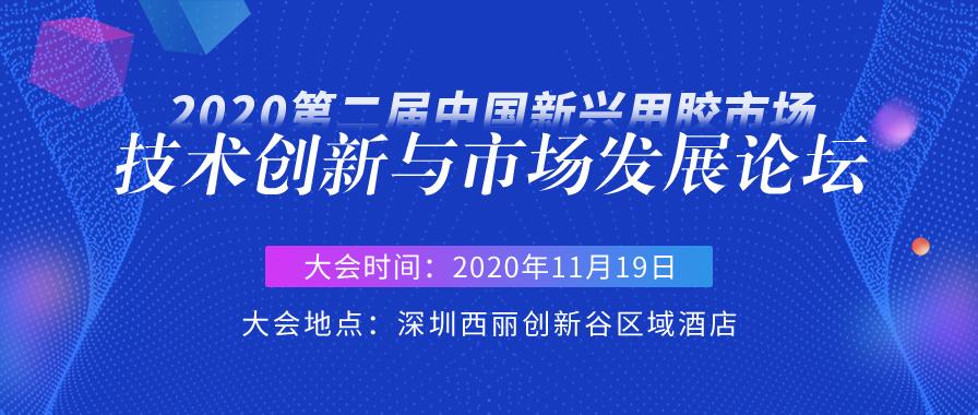 2020第二届中国新兴用胶市场技术创新与市场发展论坛
